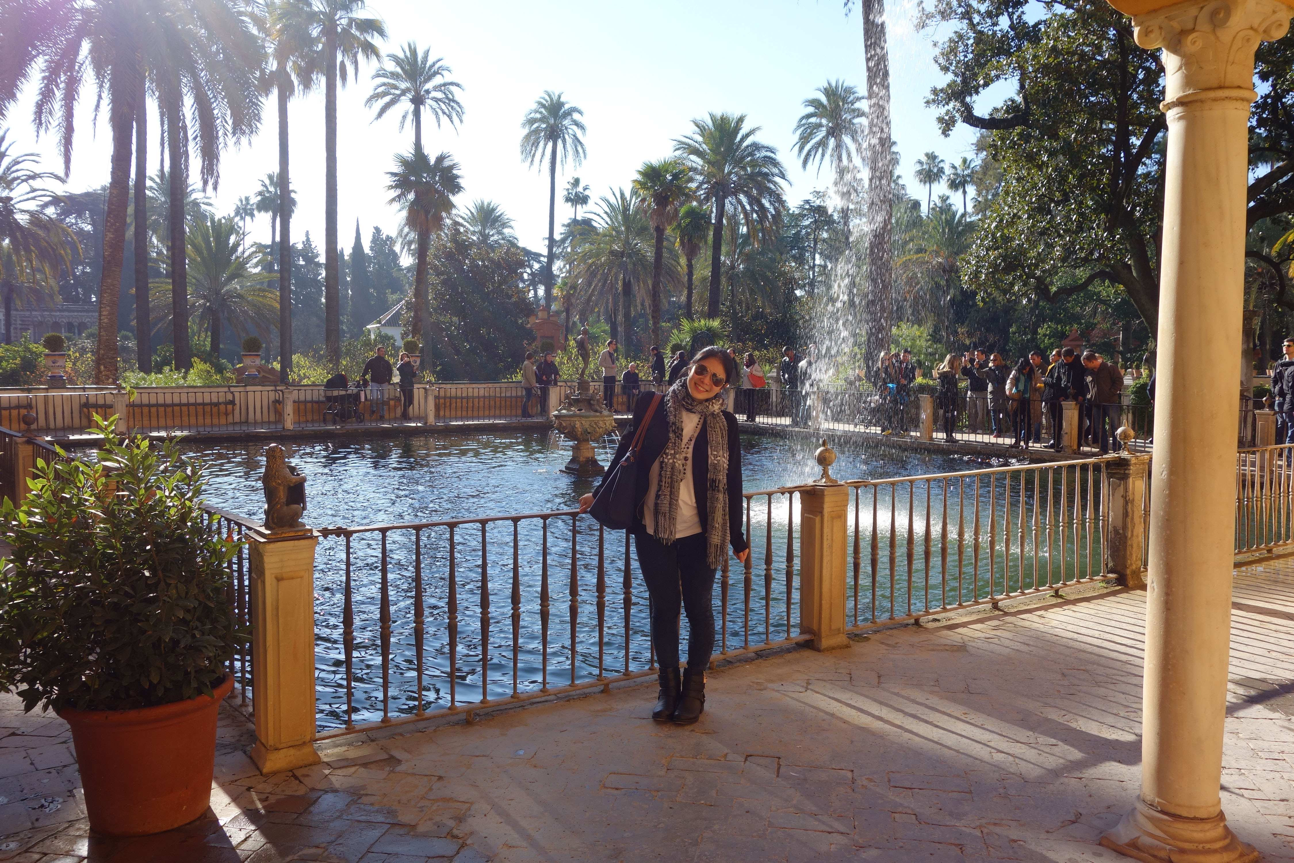 Bobbieness at Alcazar Seville