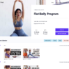 Fitness: Doing Chloe Ting's Flat Belly Challenge